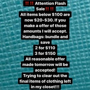 ‼️‼️‼️Attention flash Sale‼️‼️‼️